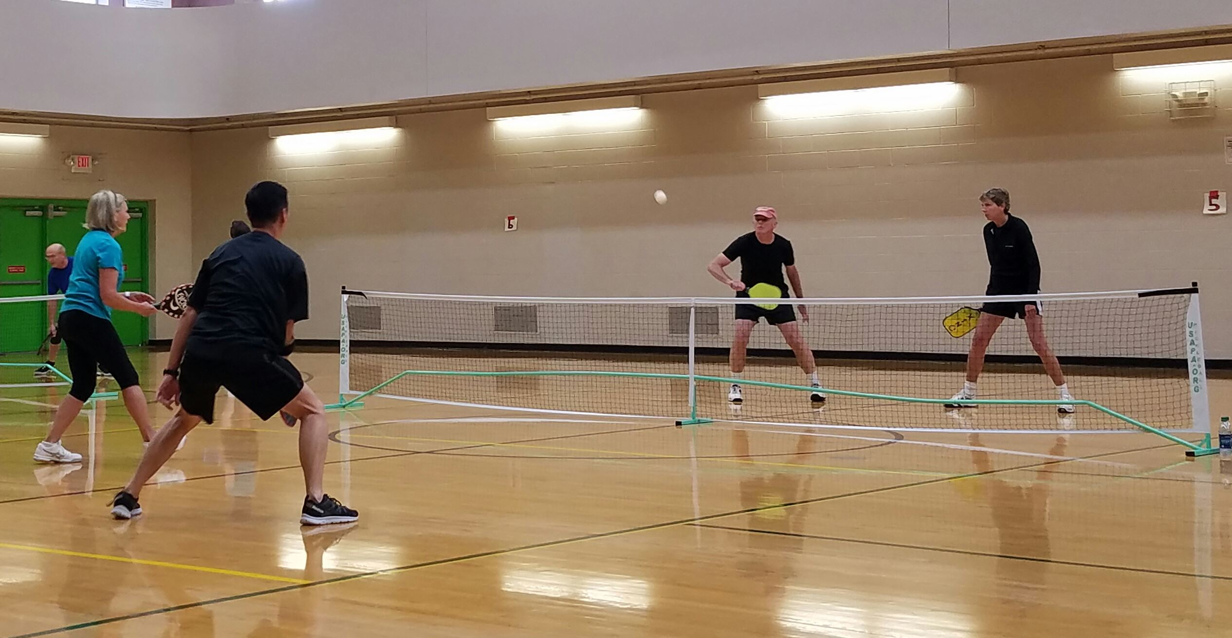 Pickleball Players - Indoor