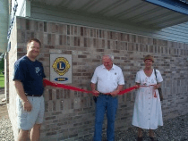 Lions Club Ribbon Cutting