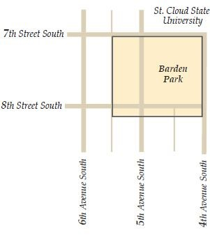 Barden Park Historic District Map